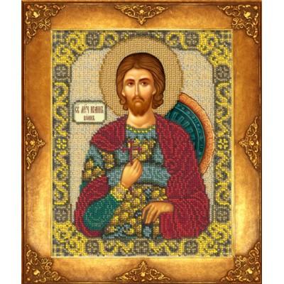 Икона Св. Иоанн Воин - Русская искусница - вышивка бисером икон