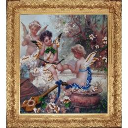 Набор для вышивки бисером - Butterfly - №402 Райская мелодия