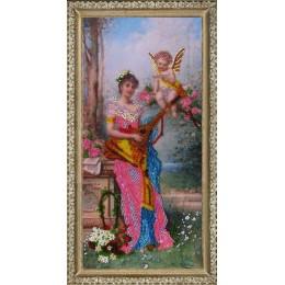 Ангел вдохновения - Butterfly - набор вышивки бисером