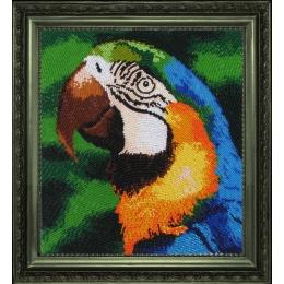 Набор для вышивки бисером - Butterfly - №504 Попугай