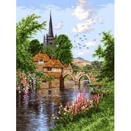 Вышивка гобеленовым швом - Goblen Set - G870 Английский пейзаж