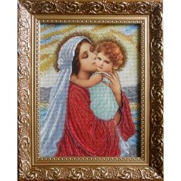 Мадонна и дитя (мини) - БС Солес - набор для вышивки бисером икон