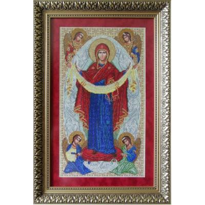 Вышивка бисером икон - БС Солес - Икона Покров Пресвятой Богородицы