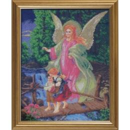 Ангел Хранитель (большая икона) - БС Солес - набор для вышивки бисером икон