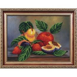 Набор для вышивки бисером  - Магия канвы - Б-073 Ассорти фруктов