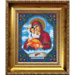 Икона Божьей Матери Почаевская - Чарівна Мить - вышивка бисером иконы