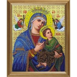 Икона Богородица Неустанной Помощи - БС Солес - вышивка бисером икон
