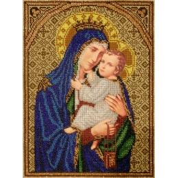Богородица с горы Кармель - БС Солес - набор для вышивки бисером икон