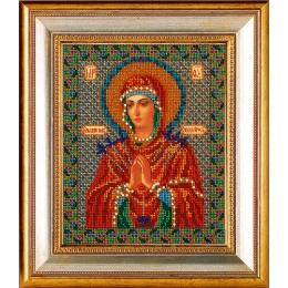 Вышивка бисером икон - Кроше - Икона Богородица умягчения злых сердец