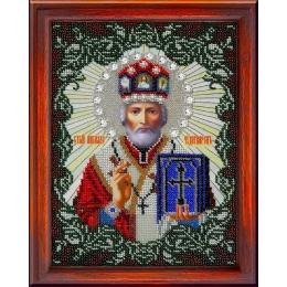 Икона Святитель Николай Чудотворец - ТМ Вышиваем бисером - вышивка бисером икон