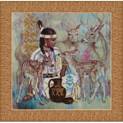 Дитя природы  - Butterfly - набор вышивки бисером