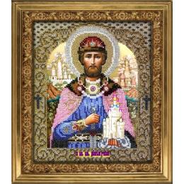 Вышивка бисером икон - ТМ Вышиваем бисером - Икона Святой Дмитрий Донской L-50