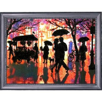 Дождливый вечер - Butterfly - набор вышивки бисером