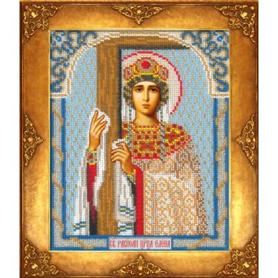 Икона Св. Елена - Русская искусница - вышивка бисером икон