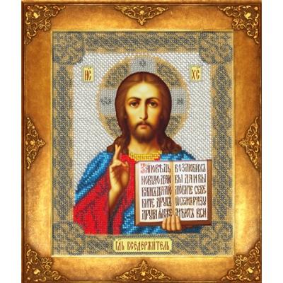 Икона Господь Вседержитель - Русская искусница - вышивка бисером икон