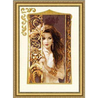 Жасмин - Золотое руно - набор вышивки крестом