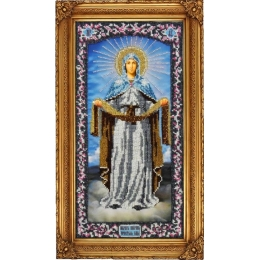 Икона Покров Пресвятой Богородицы - ТМ Вышиваем бисером - вышивка бисером икон