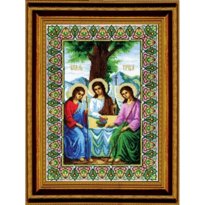 Икона Пресвятой Троицы - Чарівна мить - набор вышивки крестом