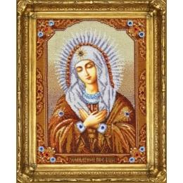 """Икона Богородицы """"Умиление"""" - Картины бисером - вышивка бисером икон"""