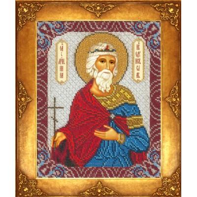 Икона Св. Инна - Русская искусница - вышивка бисером икон