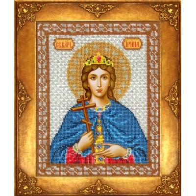 Икона Св. Ирина - Русская искусница - вышивка бисером икон