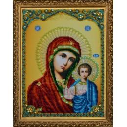 Вышивка бисером икон - Картины бисером - Икона Казанской Божией Матери Р-108