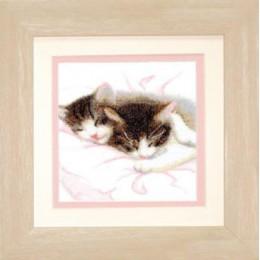 Котята - Чарівна мить - набор вышивки крестом