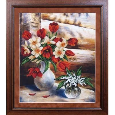 Майские цветы - Магия канвы - набор вышивки бисером