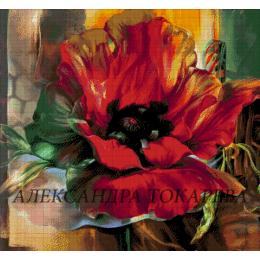 Авторский набор для вышивки бисером - Токарева А. - Маковая фантазия 46-2805-НМ