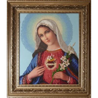 Мария - Краса і Творчість - вышивка бисером икон