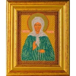 Икона Св. Блаженная Матрона Московская - Кроше - вышивка бисером икон