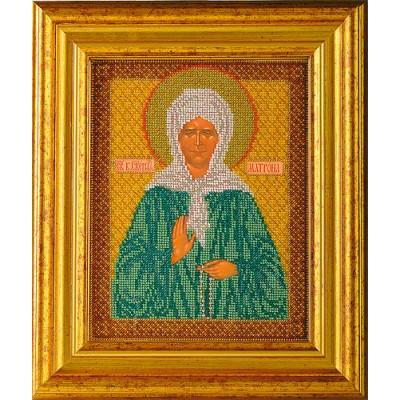 Вышивка бисером икон - Кроше - Икона Св. Блаженная Матрона Московская