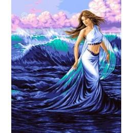 Морское волшебство - Goblen Set - вышивка гобеленовым швом