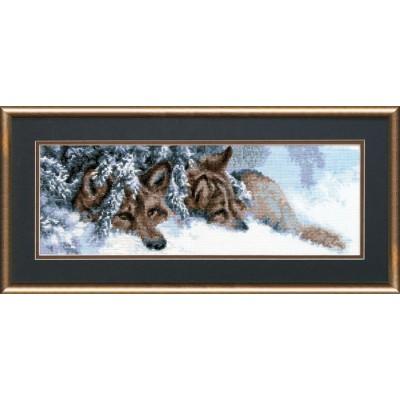 Волки - Чарівна мить - набор вышивки крестом