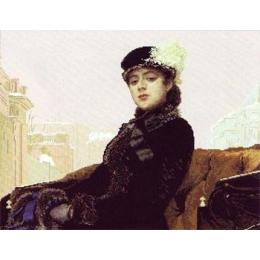 «Неизвестная», И.М. Крамской - Краса і Творчість - набор вышивки крестом