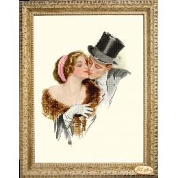 Набор для вышивки бисером - Тэла Артис - НГ-046 Флирт