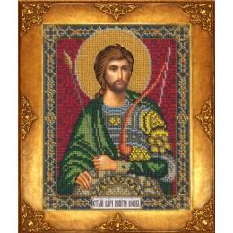 Икона Св. Никита - Русская искусница - вышивка бисером икон