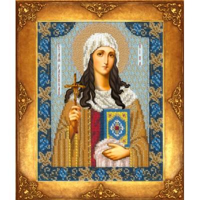 Икона Св. Нина - Русская искусница - вышивка бисером икон
