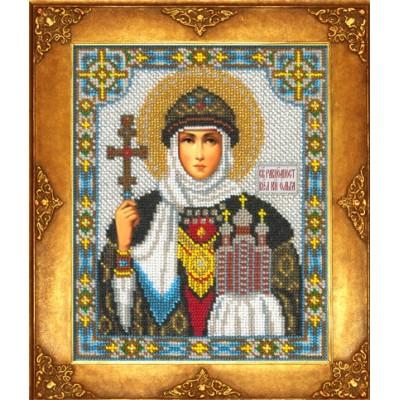 Икона Св. Ольга - Русская искусница - вышивка бисером икон