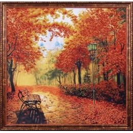 Осенний парк - Магия канвы - набор для вышивки бисером