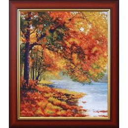 Осенний берег - Магия канвы - набор для вышивки бисером