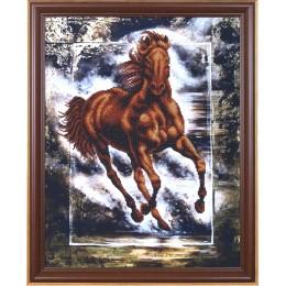 Победный конь - Магия канвы - набор для вышивки бисером