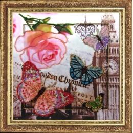 Привет из Лондона - Butterfly - набор для вышивки бисером