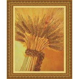 Набор для вышивки бисером - Картины бисером - Золотой урожай