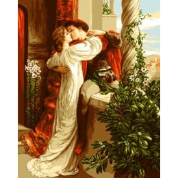 Ромео и Джульетта - Goblen Set - вышивка гобеленовым швом