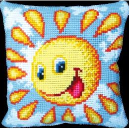 Солнышко - Чарівна мить - набор вышивки крестом подушек