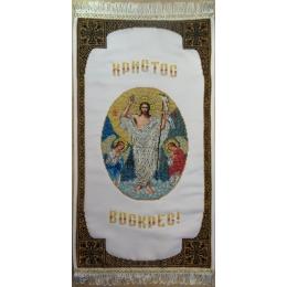 Схема к Рушныку Пасхальному РВ-01 Воскресение Христово