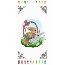 Схема к Рушныку Пасхальному (Детский)