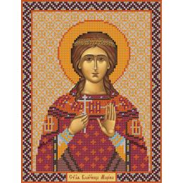 Икона Св.Мч.Марина (Антиохийская) - Нова Слобода - вышивка бисером иконы