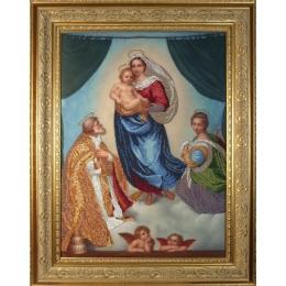 Сикстинская мадонна - Краса і Творчість - вышивка бисером икон